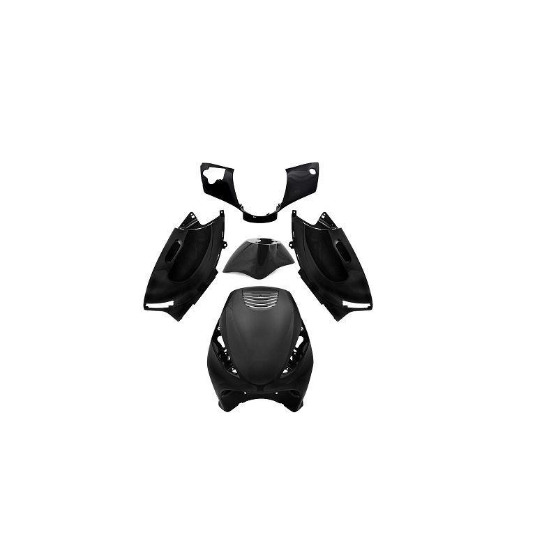 Kit carenage noir TNT 5 pièces pour Zip 50 2T