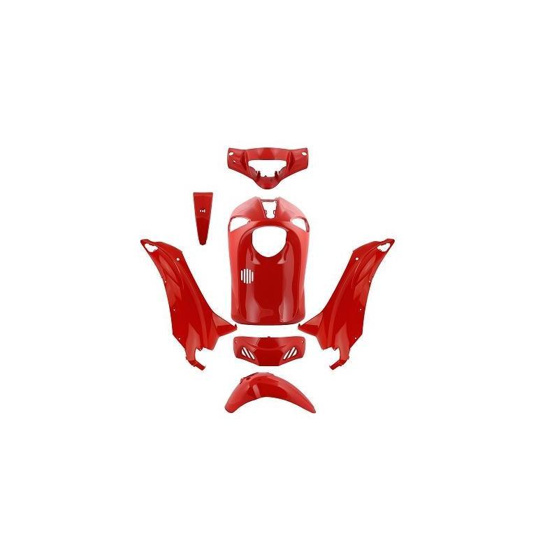 Kit carénage rouge Piaggio Liberty RST 2004-14