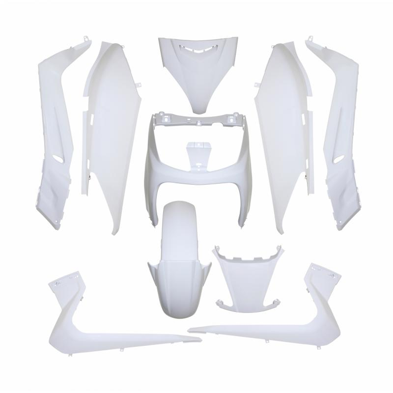 Kit carrosserie 10 pièces blanc brillant adaptable X-max/Skycruiser 2006>2009