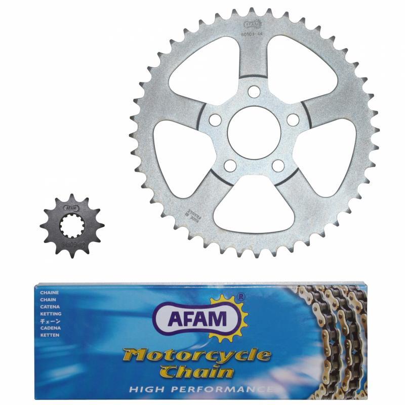 Kit chaîne Afam 12x44 Rieju 50 RS1 98-02