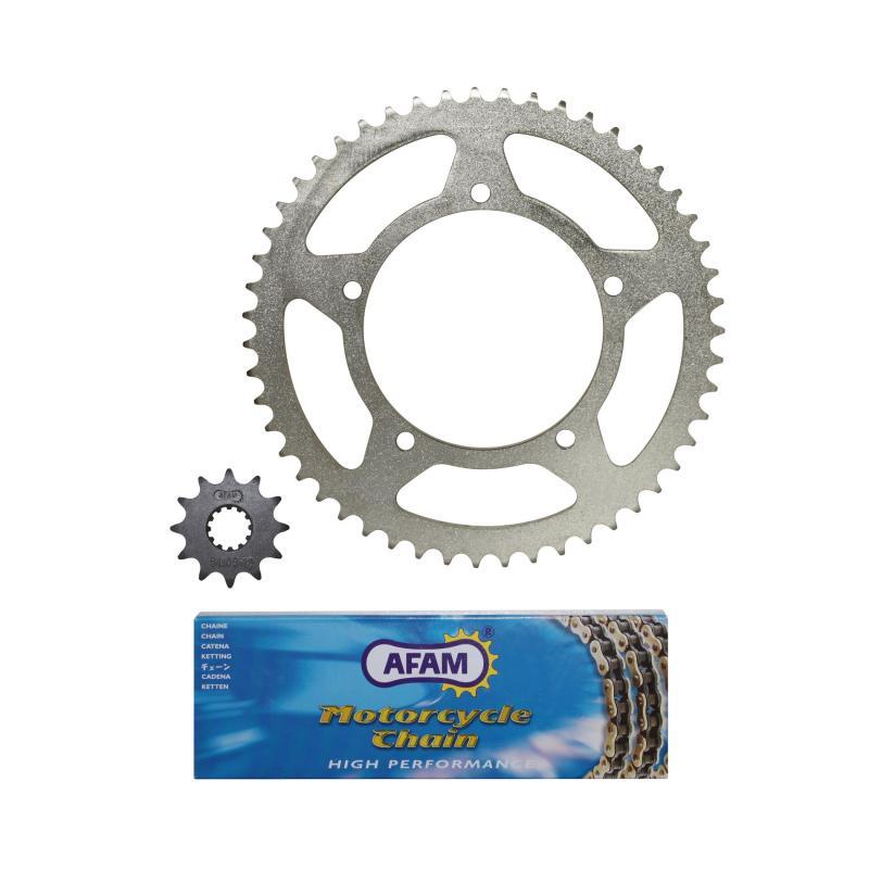 Kit chaîne Afam 12x51 Aprilia 50 RX 95-98