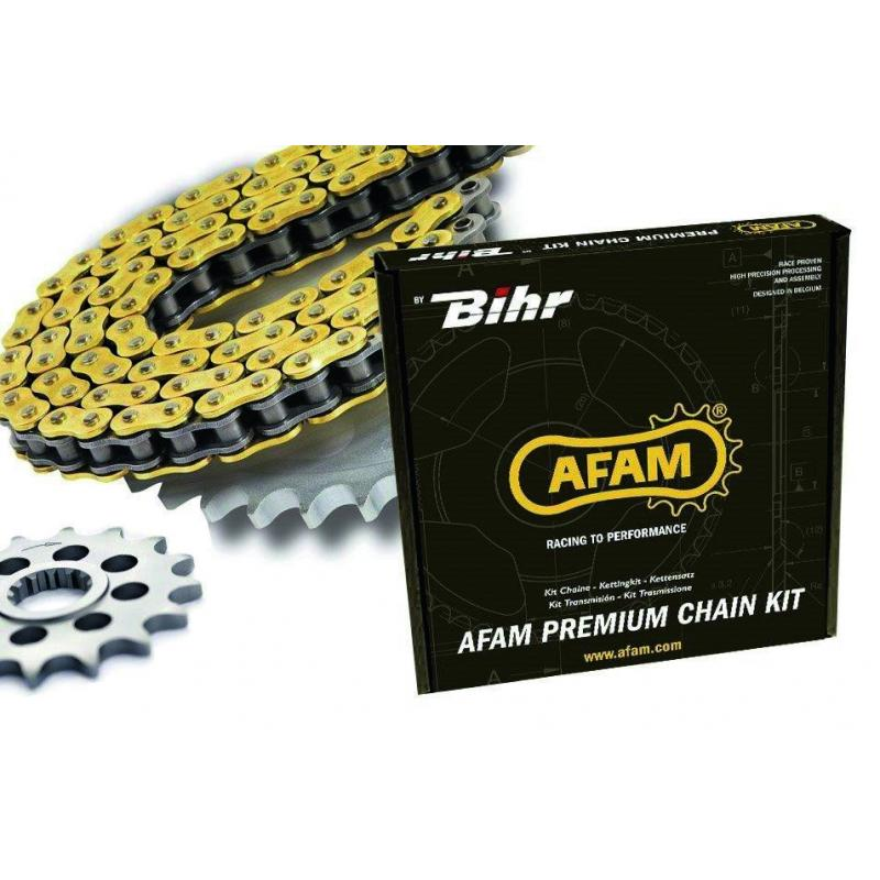 Kit chaîne Afam acier 17/38 520 type XMR3 Honda X-ADV 750 17-19