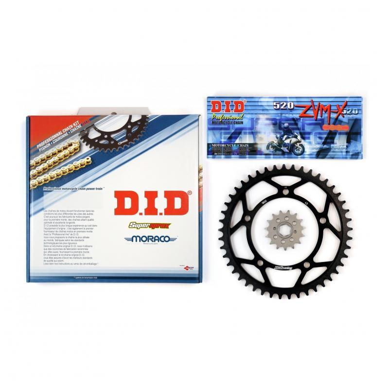 Kit chaîne DID acier Yamaha DTMX 50 81-87