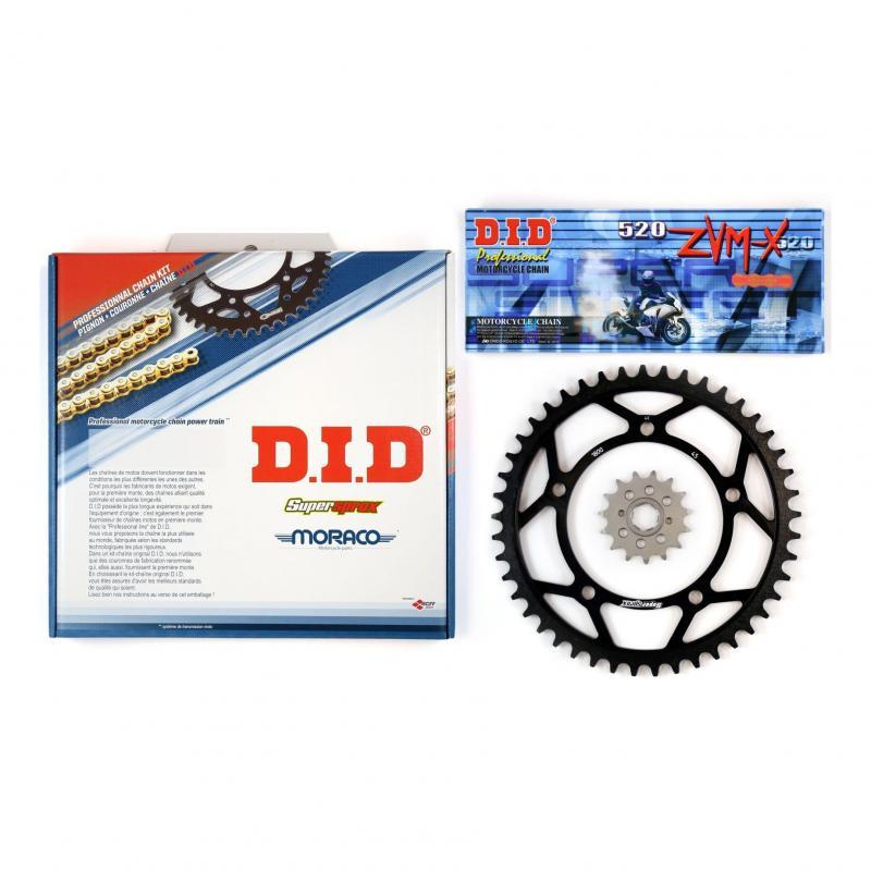 Kit chaîne DID acier Yamaha SRX 600 86-90