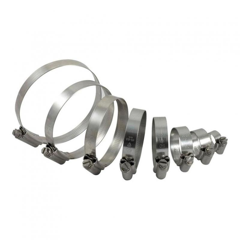 Kit colliers de serrage Samco Sport Kawasaki 500 KX 89-03 (pour kit 4 durites)