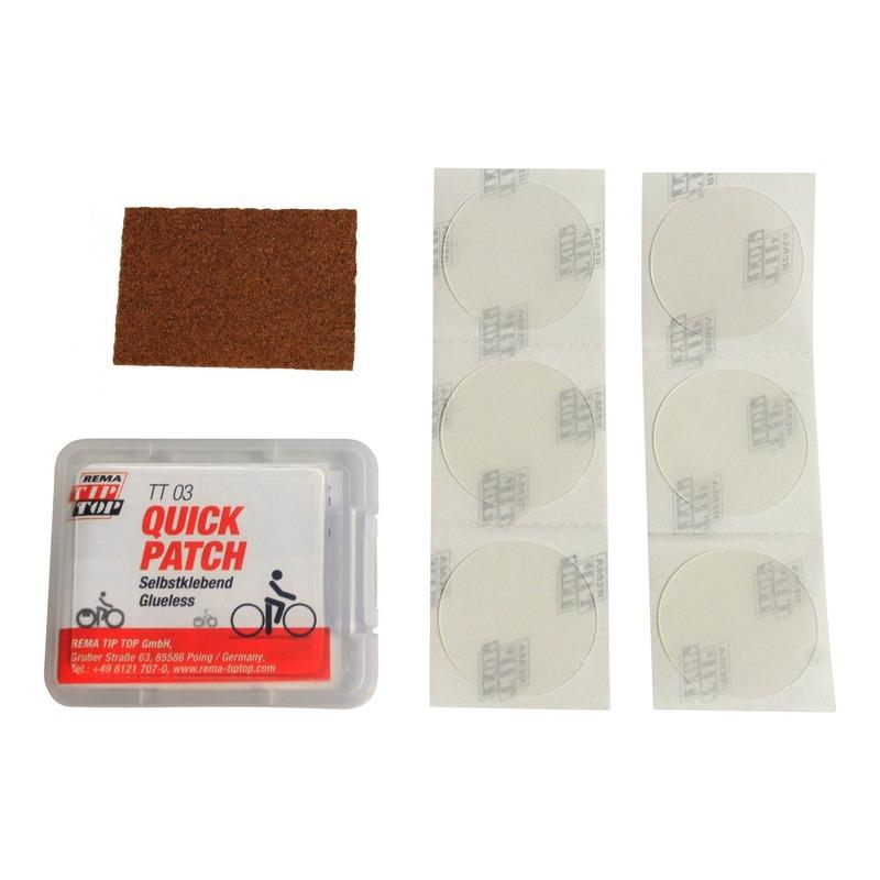 Kit de réparation chambre à air Tip Top TT03 Quick Patch