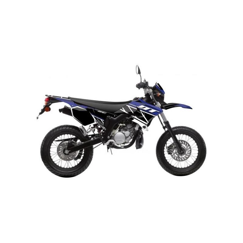 Kit déco Kutvek Replica MBK Xlimit / Yamaha DT 07-11 bleu