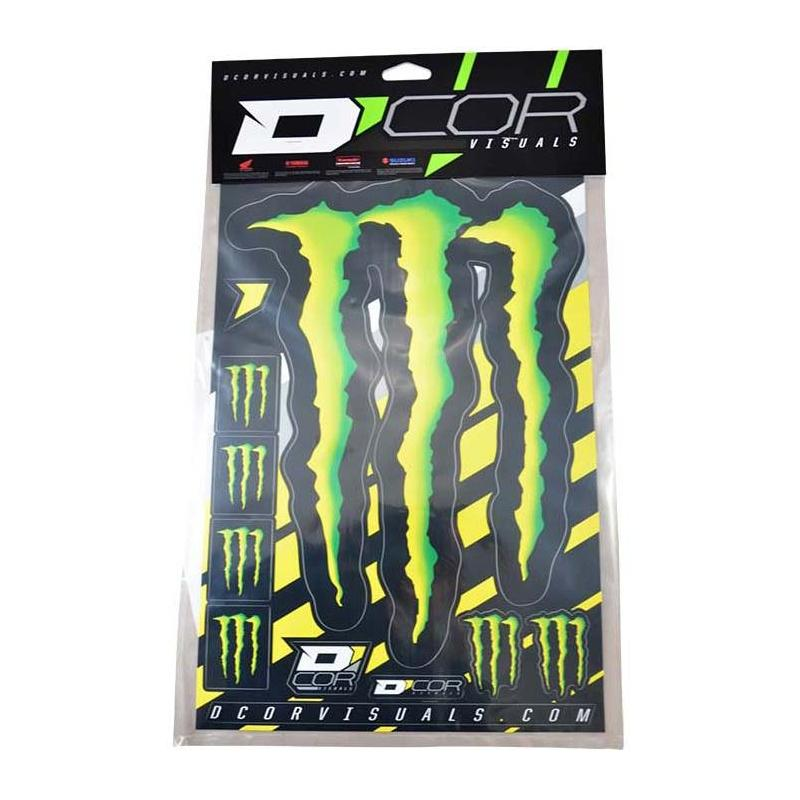 Kit déco Monster Energy Grande griffe