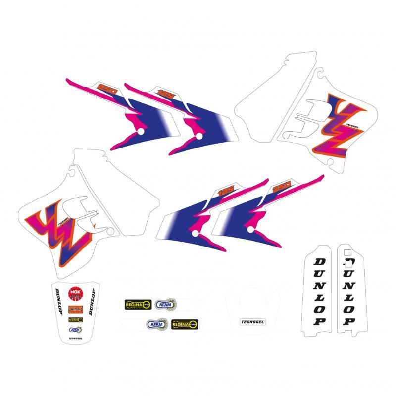 Kit déco Réplica Team Yamaha 93 Tecnosel Yamaha 125 YZ 93-95