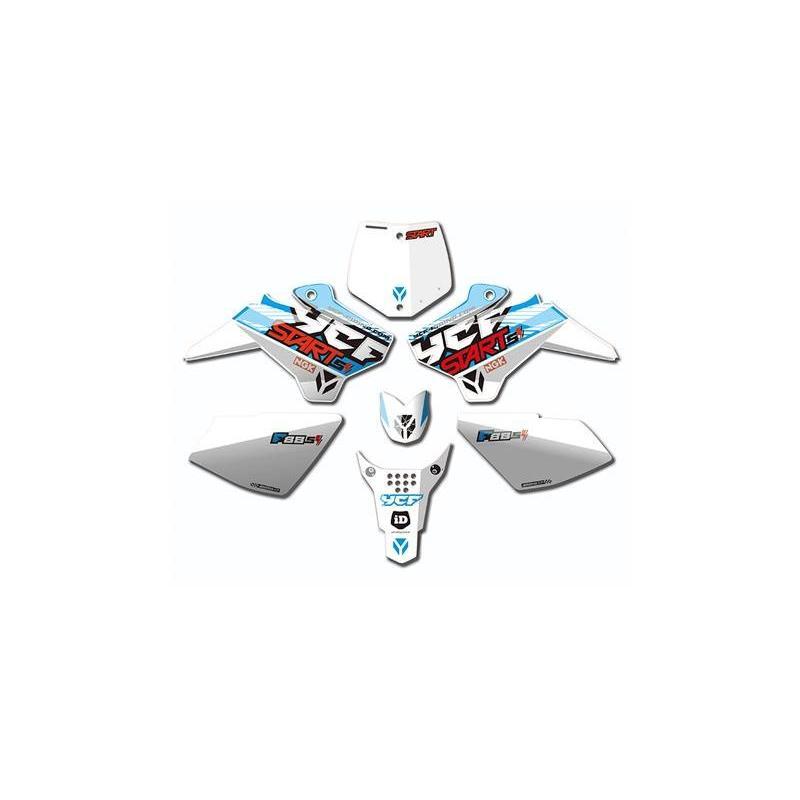Kit déco YCF pour YCF Start F88SE 2017 blanc