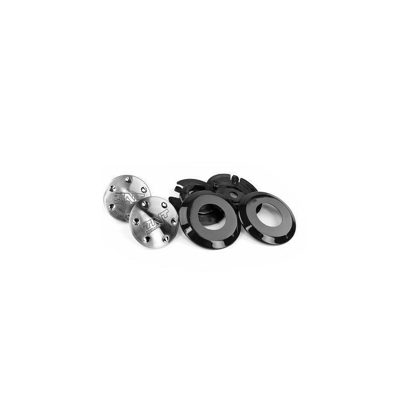 Kit fixation de visière casque jet Puck SB23 noir
