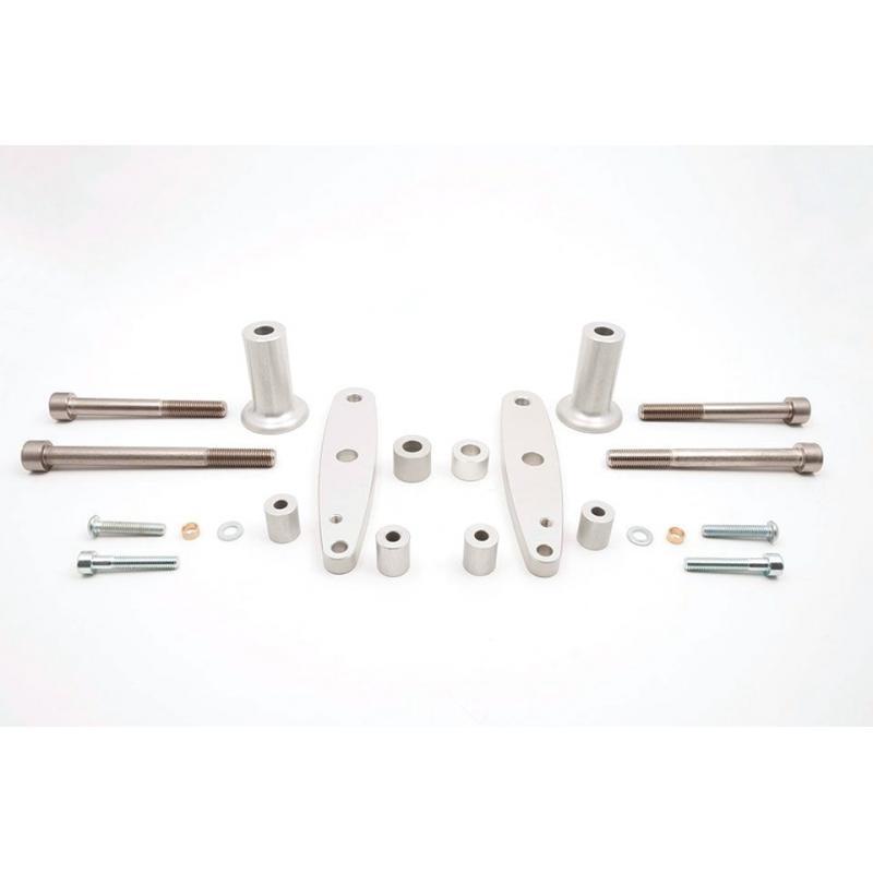 Kit fixation tampon de protection LSL Honda VTR 1000 F 97-04