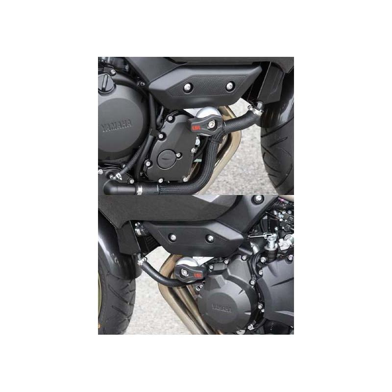 Kit fixation tampon de protection LSL Yamaha XJ6 N/S 09-16
