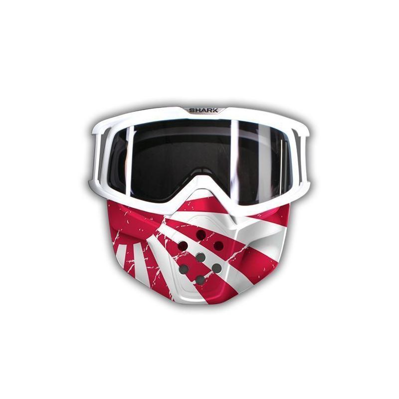 Kit mask + google Japan Shark