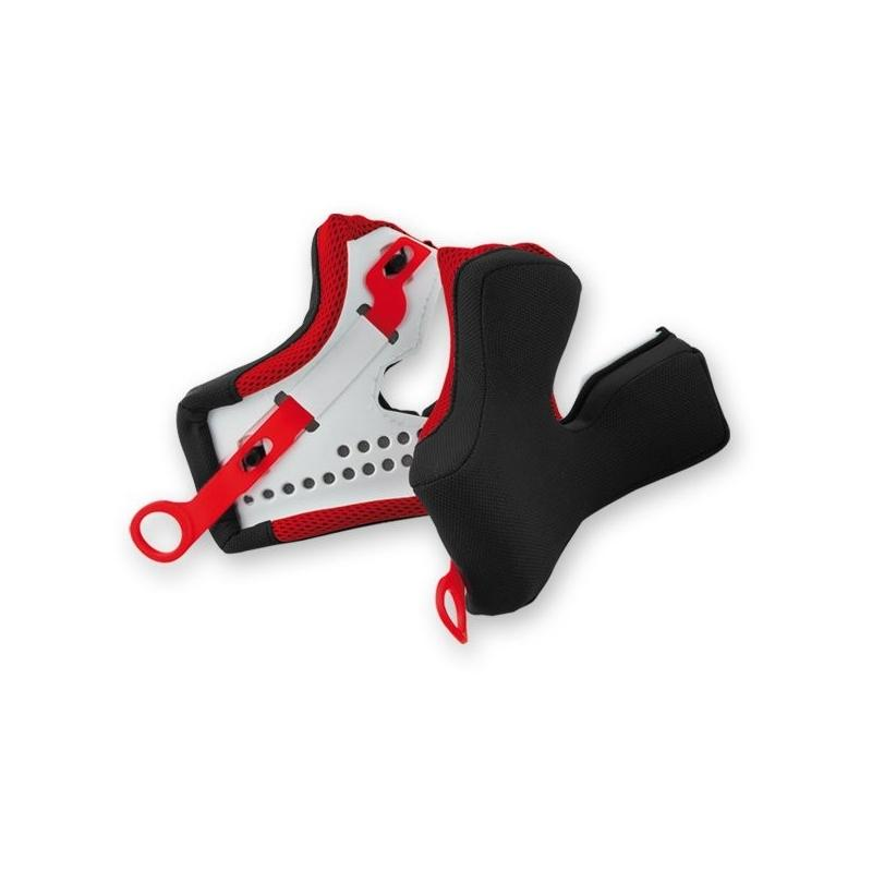 Kit mousses laterales rouges ufo taille l