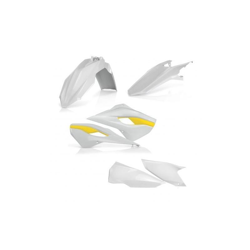 Kit plastique Acerbis Husqvarna 250 TC 14-16 réplica 15 blanc/jaune