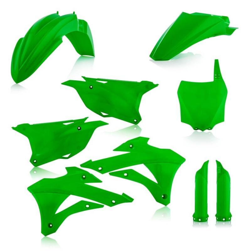 Kit plastique complet Acerbis Kawasaki 85 KX 14-21 vert
