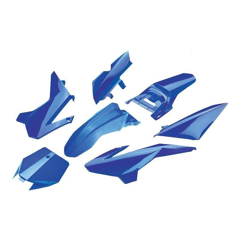 Kit plastique complet YCF 50cc à partir 2020 bleu