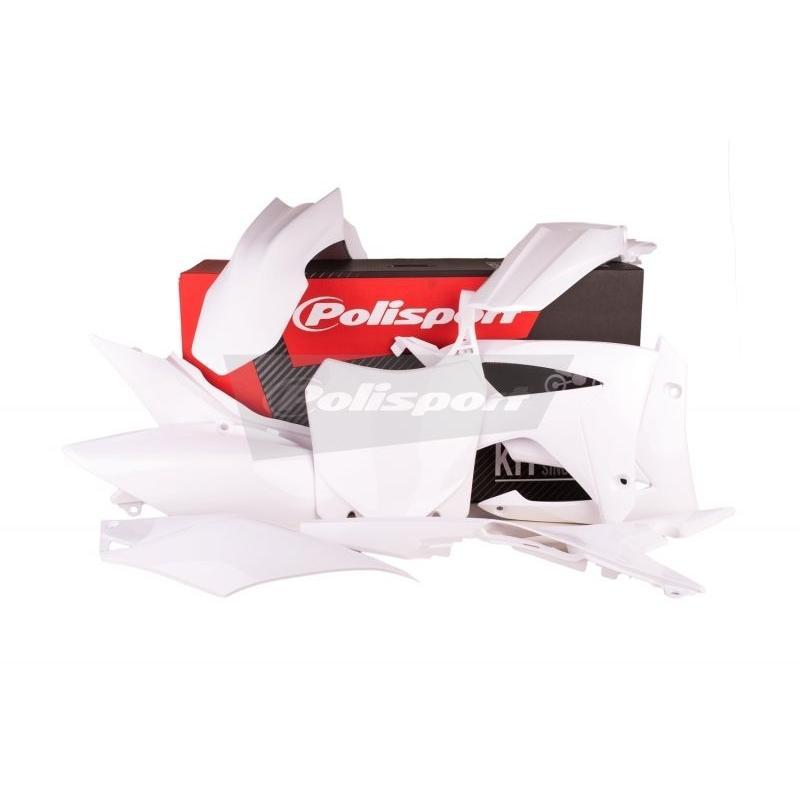 Kit plastique Polisport Honda CRF 450R 13-16 blanc