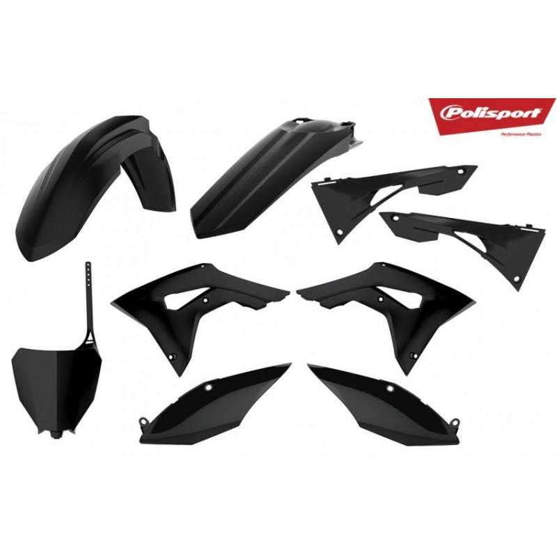 Kit plastique Polisport Honda CRF 250R 18-21 noir