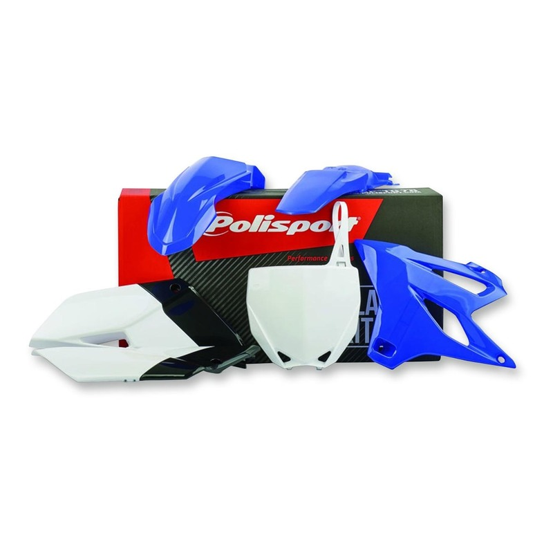 Kit plastique Polisport Yamaha 250 YZ-F 10-13 bleu/blanc