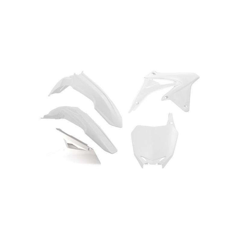 Kit plastique RTech Suzuki 450 RM-Z 08-17 blanc (couleur OEM 2017)