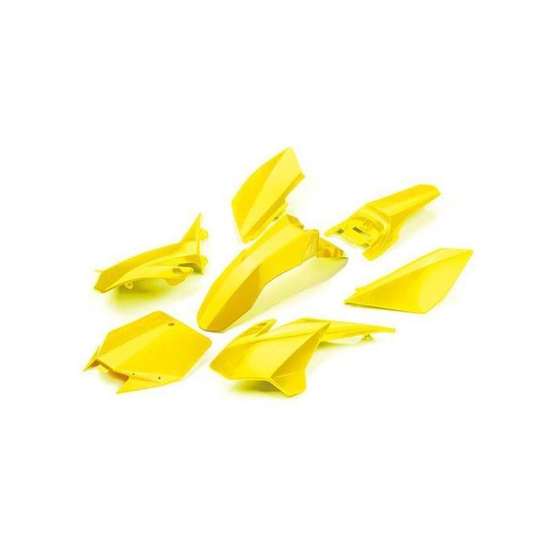 Kit plastique YCF 125 Start 2019 jaune