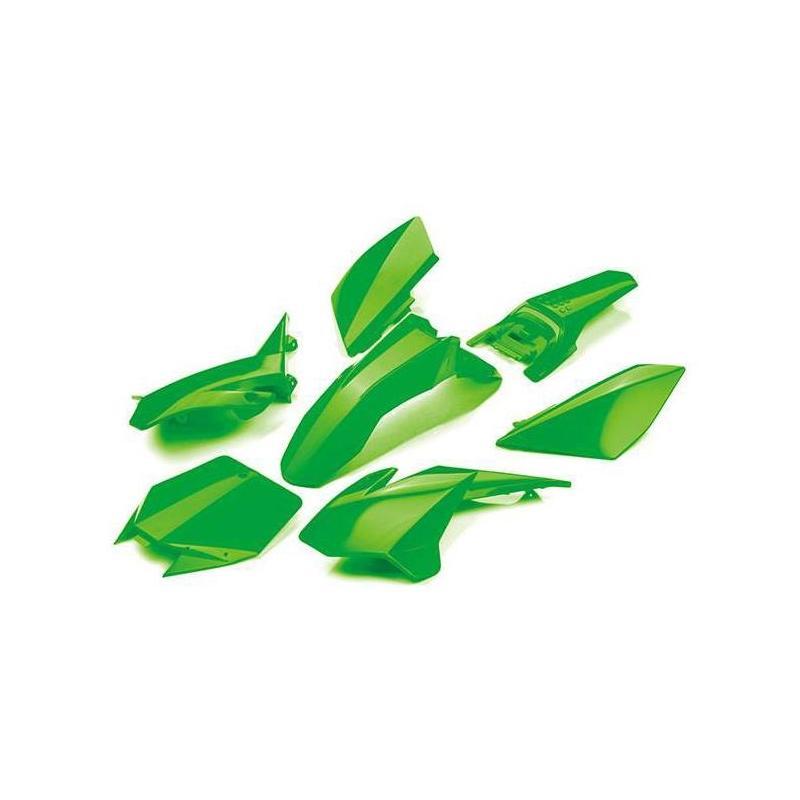Kit plastique YCF 125 Start 2019 vert