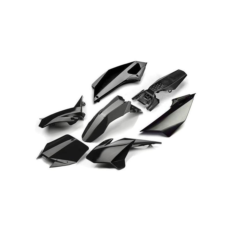 Kit plastique YCF Pilot 16-17 noir
