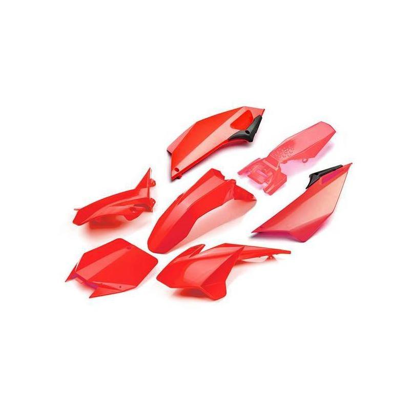 Kit plastique YCF Pilot 16-17 rouge
