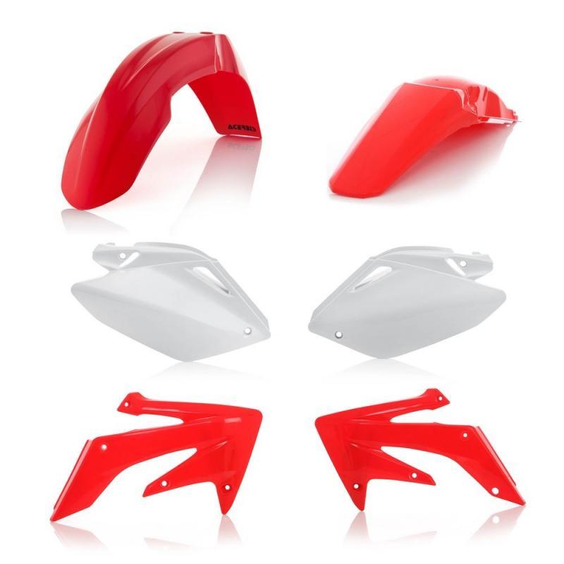 Kit plastiques Acerbis Honda CRF 250R 04-05 réplica04