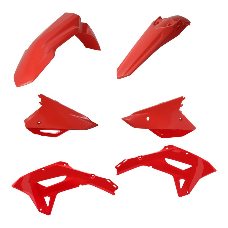 Kit plastiques Acerbis Honda CRF 450RX 2021 rouge