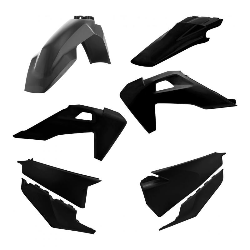 Kit plastiques Acerbis Husqvarna 250 FE 2020 noir