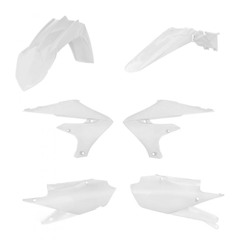 Kit plastiques Acerbis Yamaha 450 YZ-F 19-20 blanc