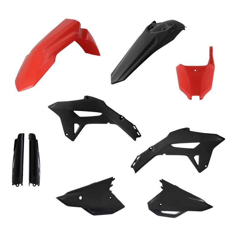 Kit plastiques complet Acerbis Honda CRF 450R 2021 noir