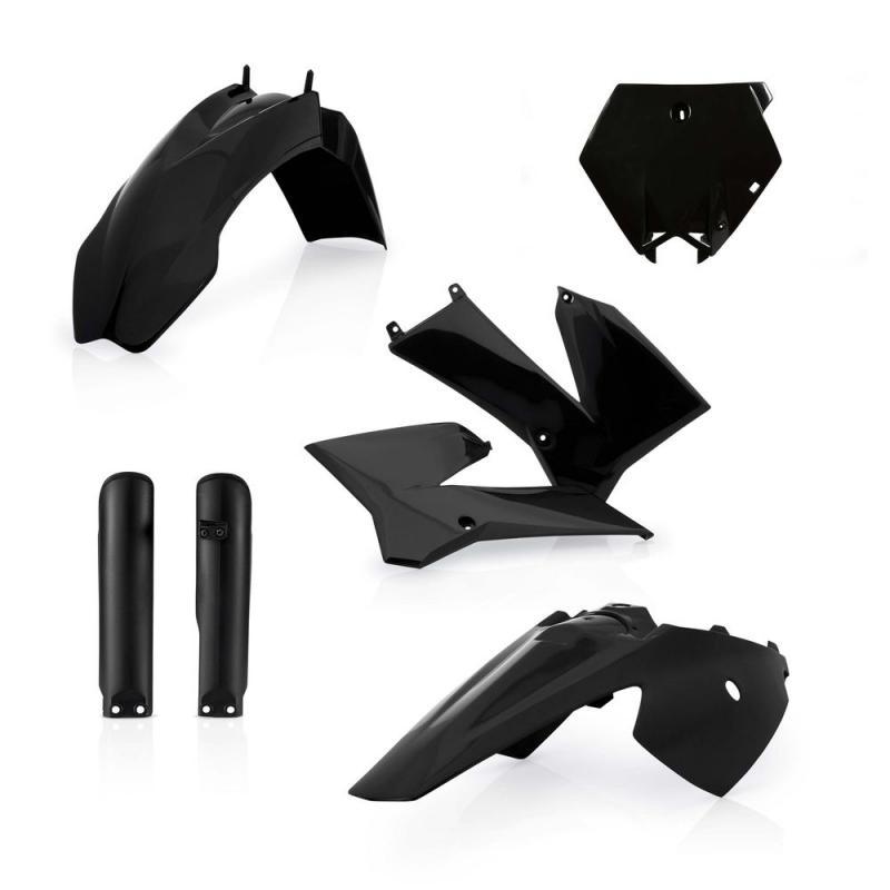 Kit plastiques complet Acerbis KTM 85 SX 06-12 noir