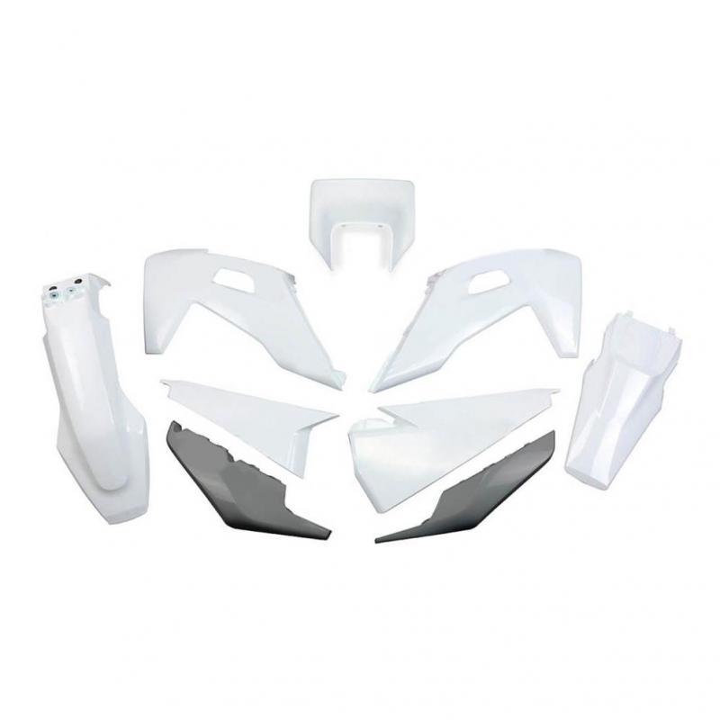 Kit plastiques UFO Husqvarna 250 FE 2020 blanc