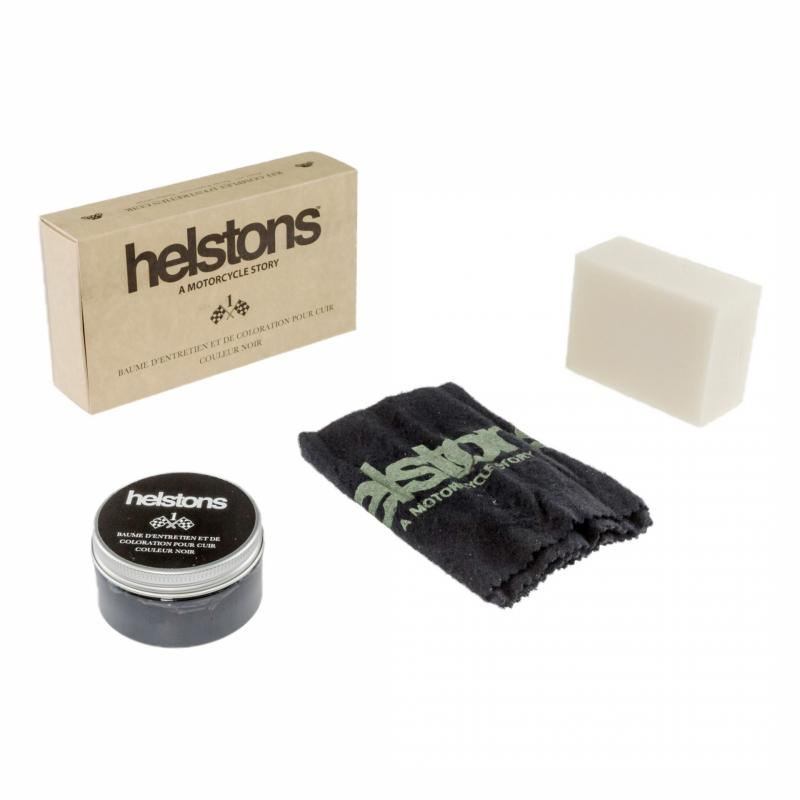 Kit produits d'entretien cuir Helstons N° 1 Noir