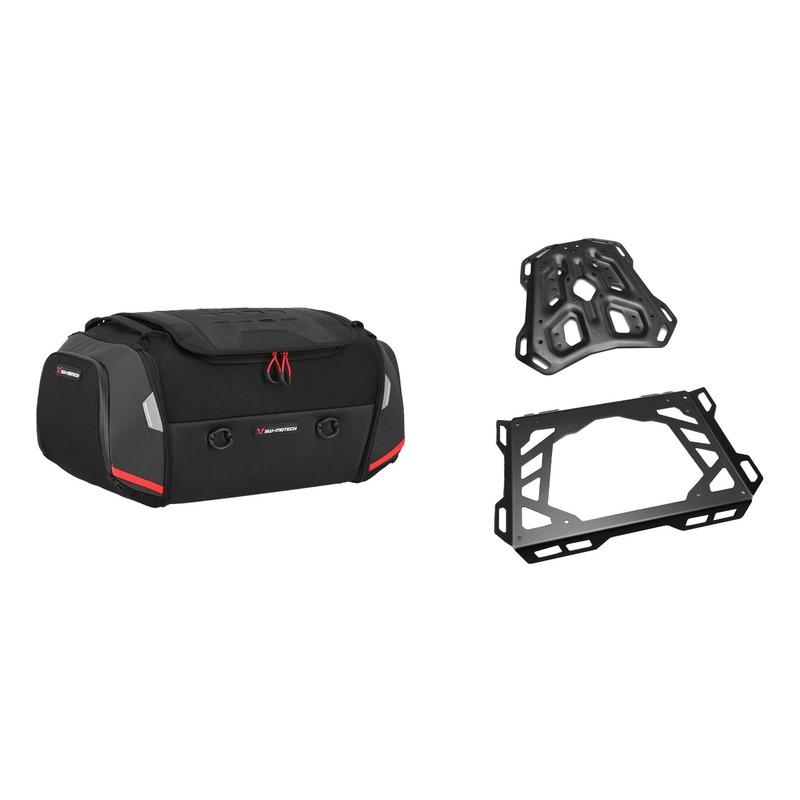 Kit sacoche de selle SW-Motech Rackpack + porte-bagages + extension Yam XT1200Z Super Ténéré 10-20