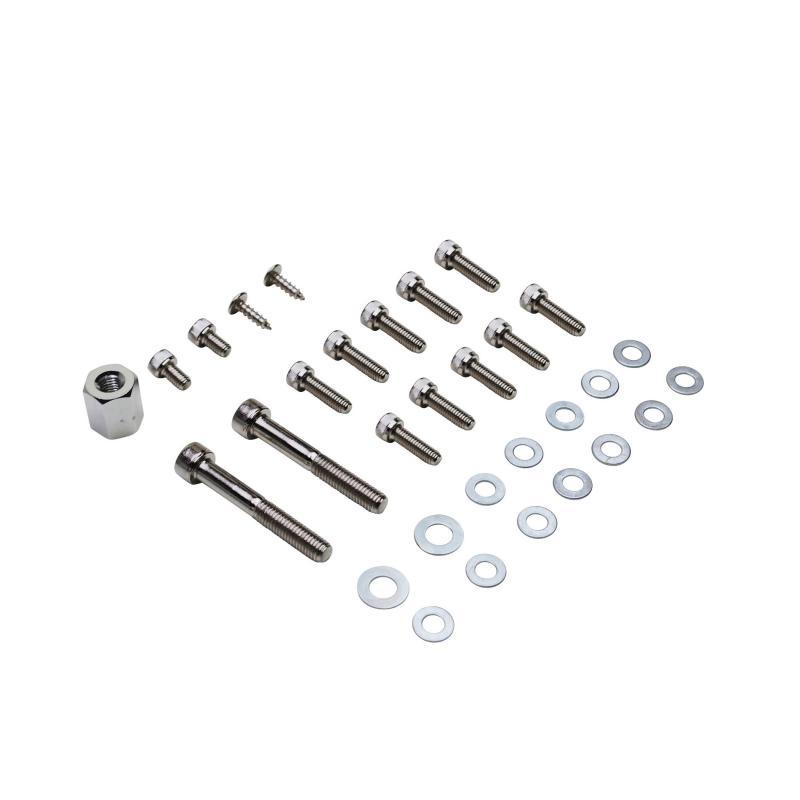 Kit vis de carrosserie Replay acier chrome pour Booster spirit