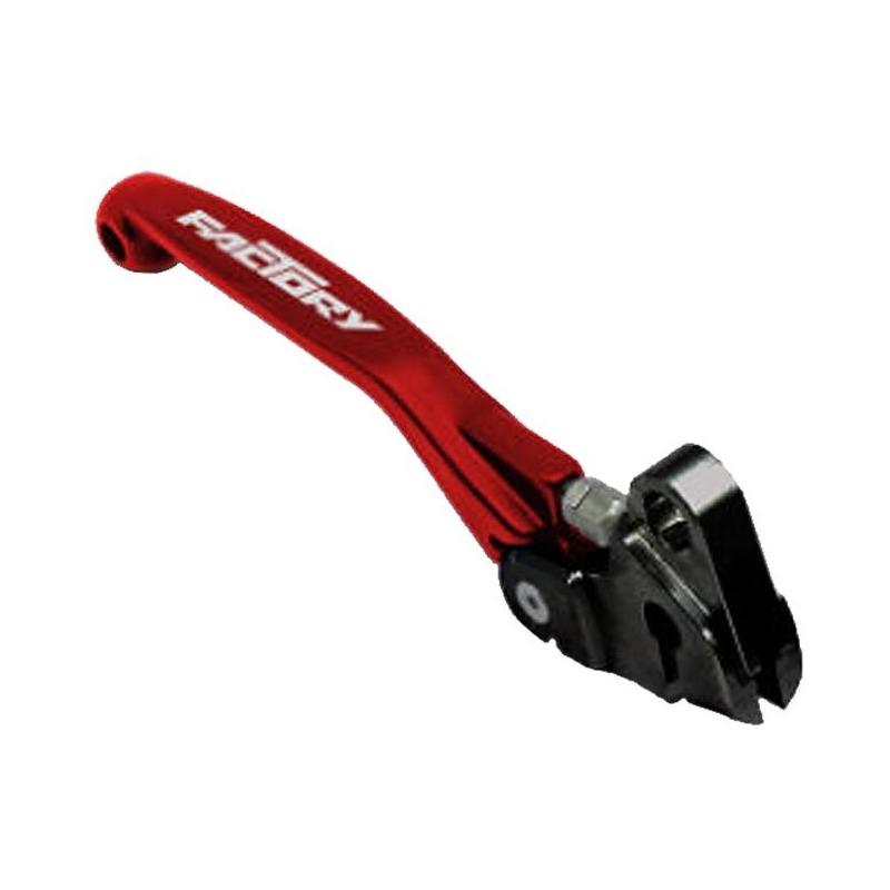 Levier de frein avant YCF repliable et ajustable rouge