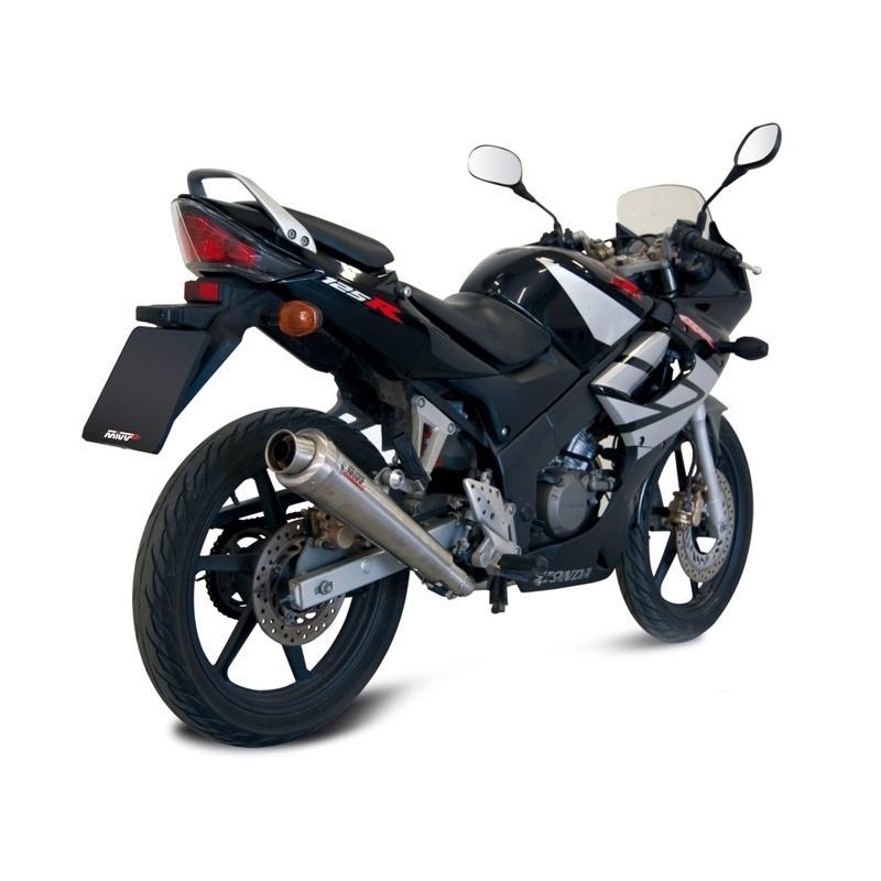 Ligne complète 1x1 MIVV X-Cone inox Honda CBR125R 04-