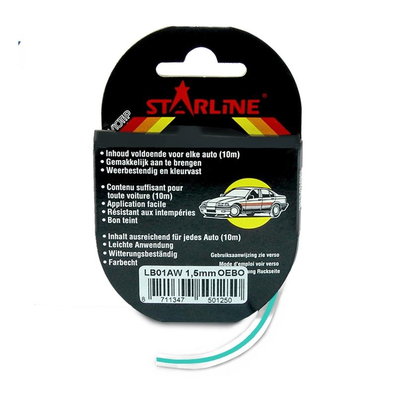 Liseret Tuning Starline 10m x 1.5mm, turquoise