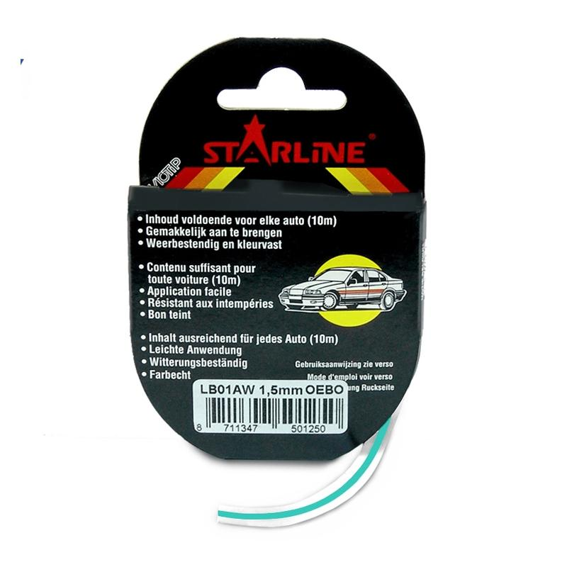 Liseret Tuning Starline 10m x 6mm, turquoise