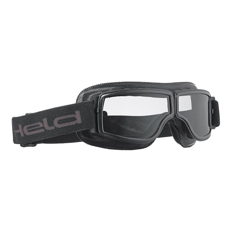 Lunette moto Held Classic goggles noir