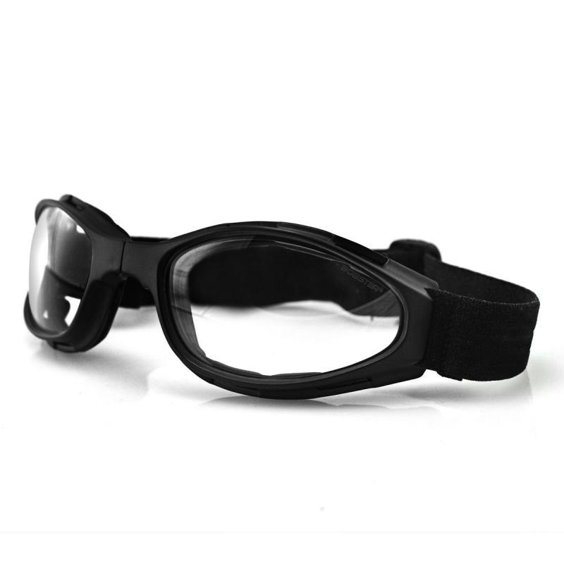Lunettes Bobster Crossfire noir mat / clair