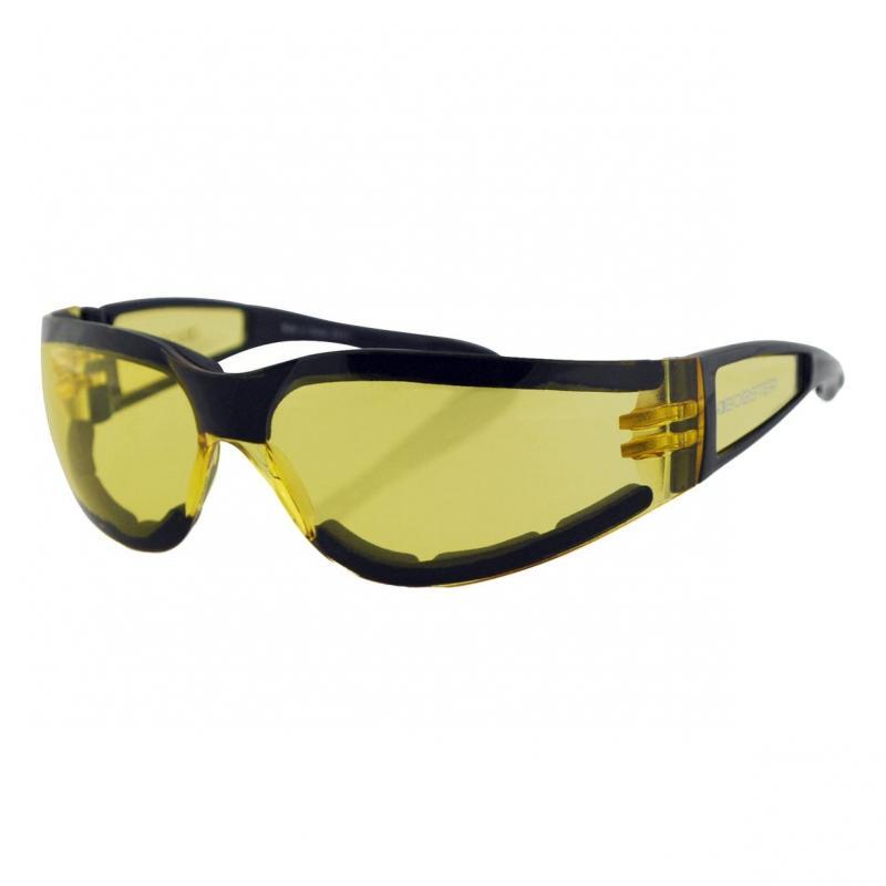 Lunettes Bobster Shield II noir gloss / jaune