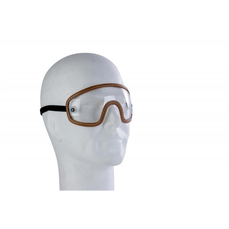 Lunettes moto Harisson Inner Goggle marron/transparent
