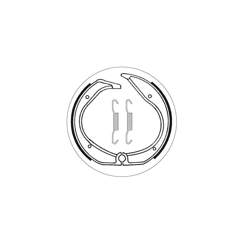 Mâchoires de frein SBS 2140