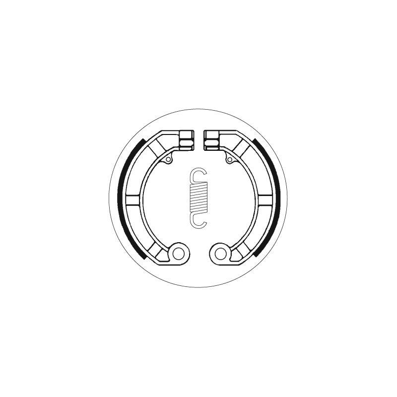 Mâchoires de frein SBS 2146